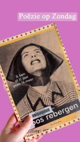Poëzie op zondag: Roos Rebergen