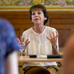 Schrijfresidentie deBuren: gespreksavond Lieve Joris