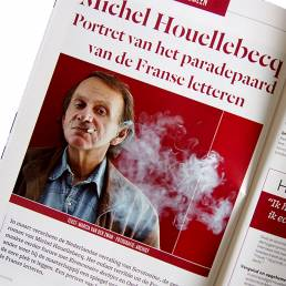 Boeken Magazine: Michel Houellebecq