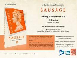 Uitnodiging - Sausage