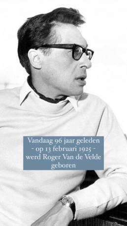Uitgeverij Vrijdag: Roger Van de Velde Instagram Story 1