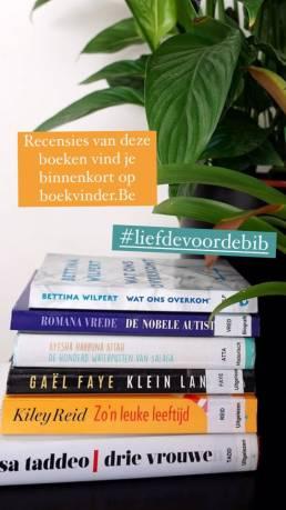 Instagram Story: Liefde voor de bibliotheek 8