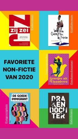 Boekvinder.be: Terugblik 2020 - Instagram Stories 4